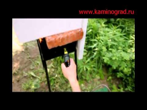 Переделываем колосниковую печь в подовую - YouTube