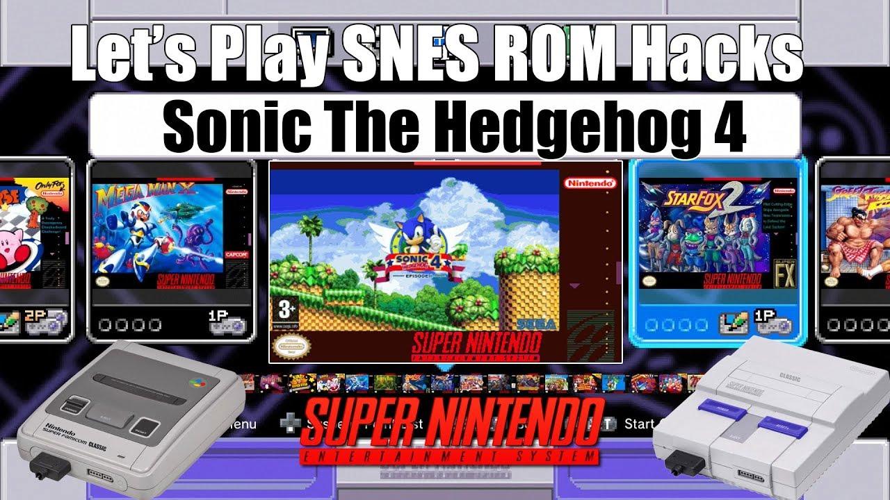 Sonic 4 rom | SNES Longplay [308] Sonic the Hedgehog 4 (Unlicensed