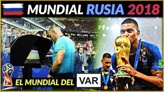 MUNDIAL RUSIA 2018 🇷🇺 | Francia campeona del Mundo | Historia de los Mundiales