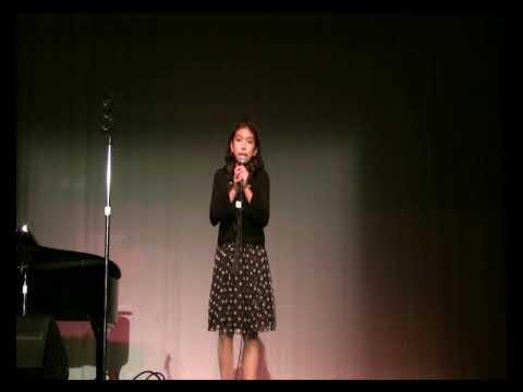Adalia Jimenez singing Ben from Michael Jackson