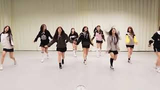 [CLOSE UP MIRRORED] fromis_9 - GLASS SHOES Dance practice Choreography