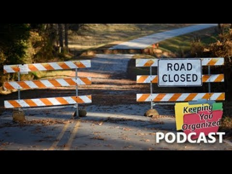 3 Blocks to Success - Part 2 - Keeping You Organized 202