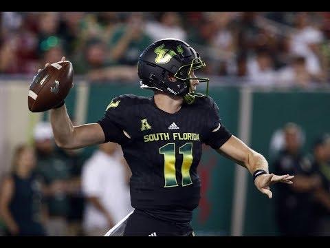 2018 American Football Highlights - #21 USF 38, UConn 30