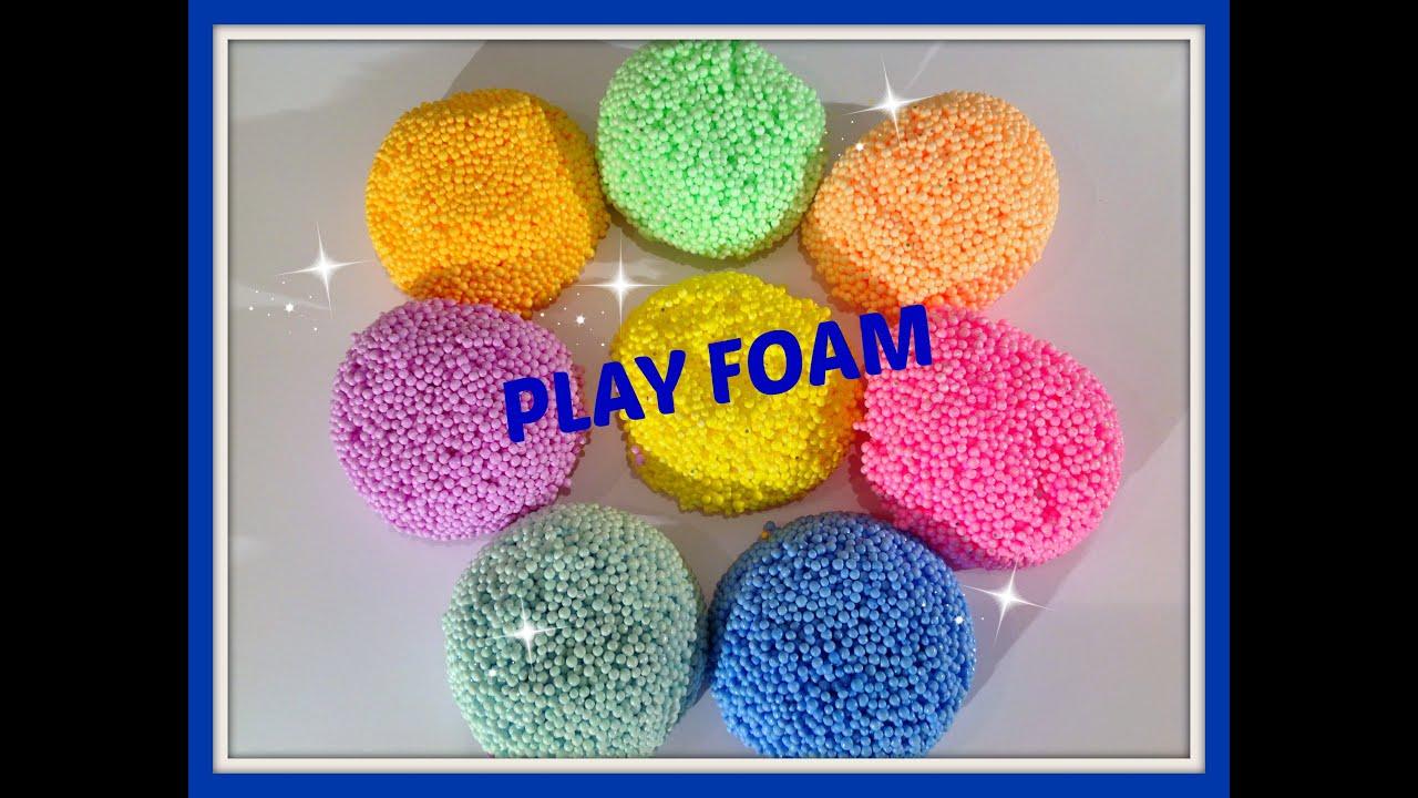 uit amerika play foam dit droogt niet zoals foam klei youtube. Black Bedroom Furniture Sets. Home Design Ideas
