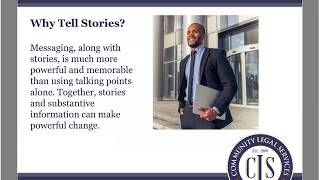 Empowering People with Criminal Records to Change Policy A Legal Advocate's Guide to Storyte