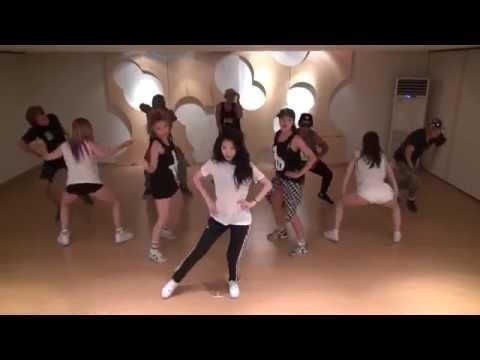 Hyuna-Red dance practise mirror