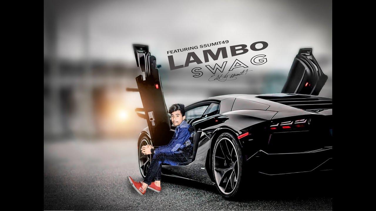 Photoshop Cc Lamborghini Photo Manuplation Youtube