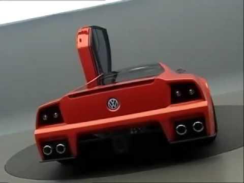 Volkswagen Nardo Supercar Concept Promotional Video Youtube