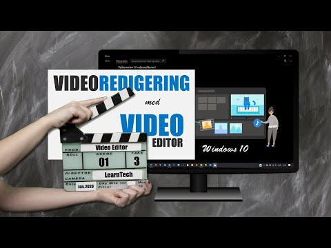 REDIGER video med Windows 10 GRATIS Video Editor - Begynderguide 2020 from YouTube · Duration:  20 minutes 32 seconds
