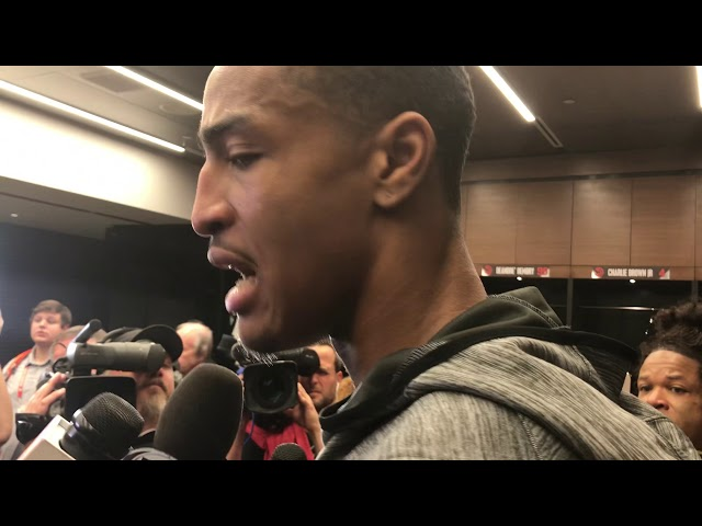 Atlanta Hawks Forward John Collins Postgame Interview (10-26-19)