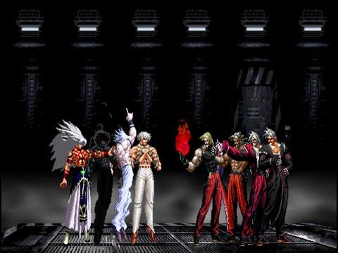 Orochi Team VS. Rugal Team