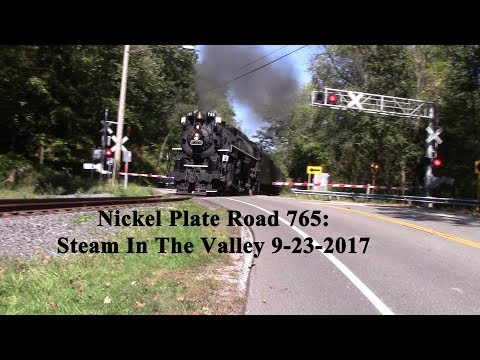Nickel Plate Road 765: Steam In The Valley 9-23-2017