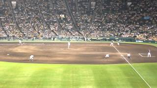 Aug.28,2015 阪神タイガース 9-0 東京ヤクルトスワローズ 阪神甲子園...