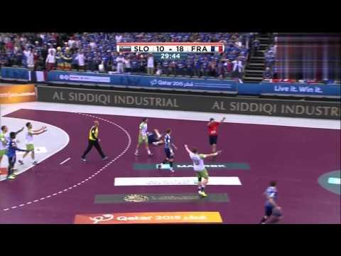 Slovénie VS France quarter-final Championnat du Monde de Handball 2015 HDRIP