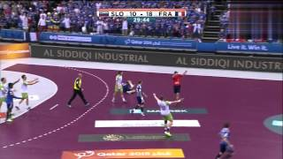 Slovénie VS France quarter-final Championnat du Monde de Handball 2015 HDRIP