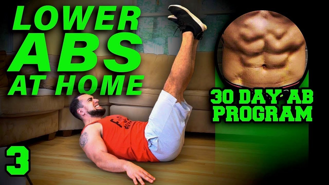 Lower Abs Workout At Home 30 Days To Six Pack Abs For Beginner To Advanced Day 3 Youtube