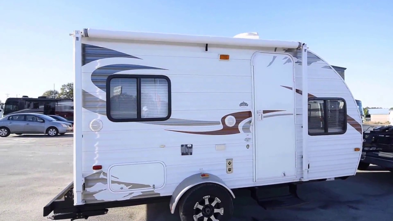 2012 Forest River Wolf Pup 16P Travel Trailer from Porter ...
