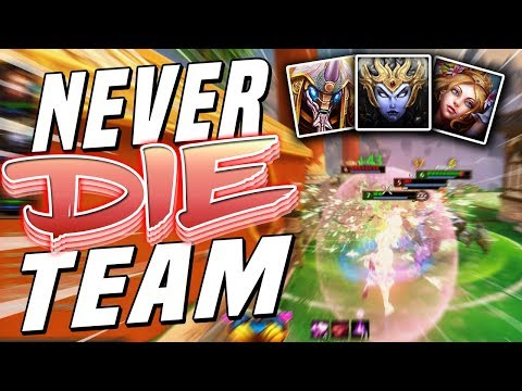 Smite: Never DIE Team - Joust 3v3 - This Team Is So STRONG!