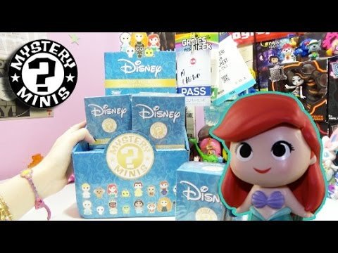 Blind Bags ! Disney Princesses Mystery Minis by FUNKO - LA TENEREZZA!!