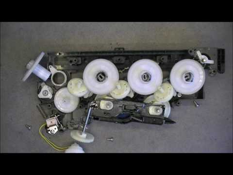 HP laserjet pro 400 color printer teardown part 5 (last, yay) Close look at the parts