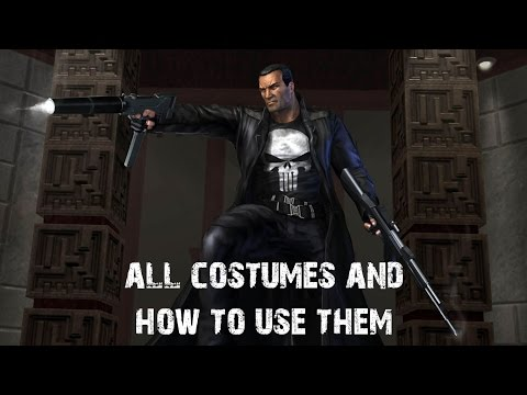 The Punisher (The Game) - All Outfit Cheats and How to use them