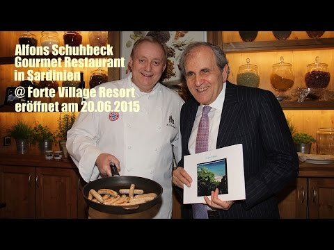 alfons schuhbeck restaurant mit traumhaften meerblick forte village ab youtube. Black Bedroom Furniture Sets. Home Design Ideas