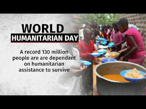 World celebrates humanitarians on World Humanitarian Day