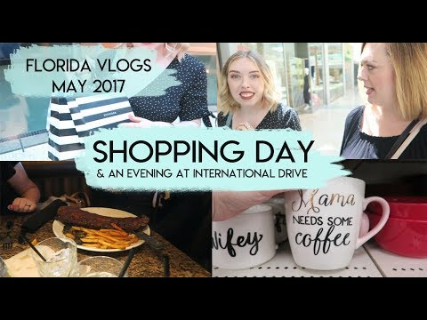 Day 1: Home Shopping & International Drive  | Florida Vlogs May 2017 | Elle and Mimi