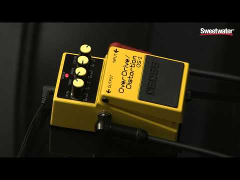 BOSS OS-2 Overdrive/Distortion Pedal Review By Sweetwater Sound