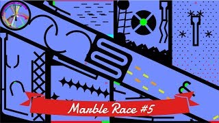 Marble Race #5: Elimination - 32 colors | Bouncy Marble