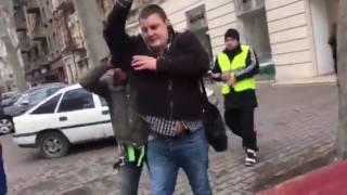 авария Одесса Ришельевская и Греческая, в дтп пьяный водитель