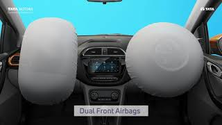 All New Tiago Dual Front Airbags   #FeelsLikeFun