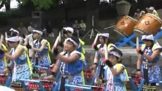 2011年6月5日横浜セントラルタウンフェスティバルに招待された気仙沼市...