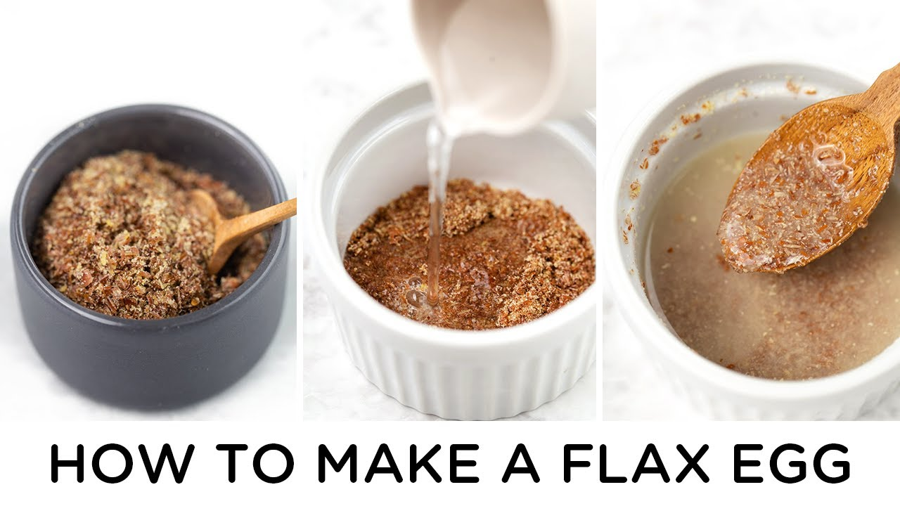 HOW TO MAKE A FLAX EGG and best ways to use it