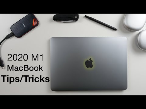 How to use M1 MacBook Pro/Air + Tips/Tricks!