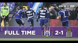 RSC ANDERLECHT VS Charleroi 2-1