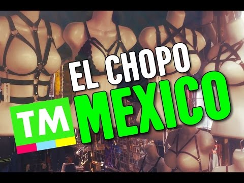 INSIDE Mexico's PUNK ROCK Market | El Chopo