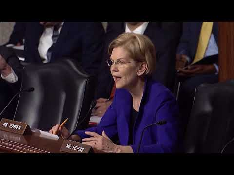 Senator Warren asks about workplace safety for Navy contractors