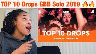 Top 10 drops | Grand beatbox battle solo 2019 reaction