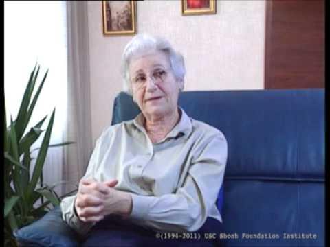 Deportation from Klatovy to Theresienstadt in November 1942. Testimony of Franziska Pelc.
