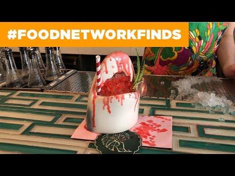 KILLER Shark Cocktails at Mother of Pearl | Food Network