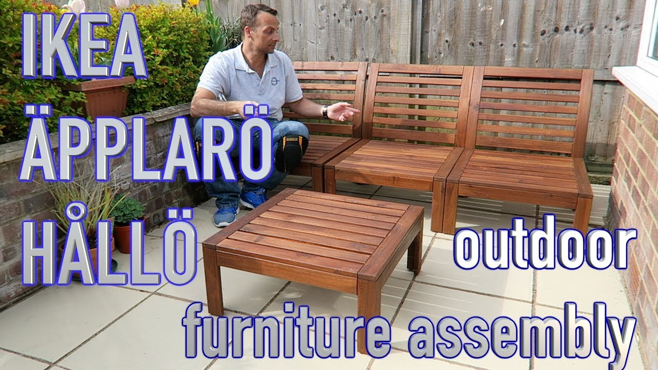 Ikea Outdoor Furniture Youtube - Ikea Gardinenstange Verbinden