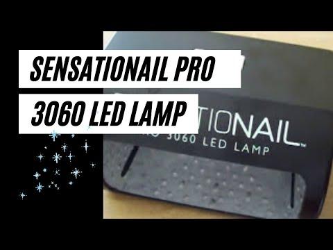 Sensationail pro 3060 LED Lamp - YouTube
