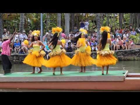 POLYNESIAN CULTURAL CENTER - TAHITI DANCE