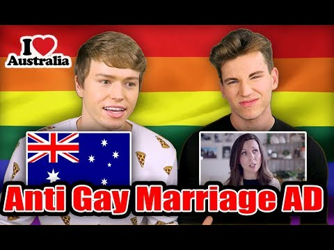 Gay Americans React to Anti-Gay Australian Ad | Austin and Patrick