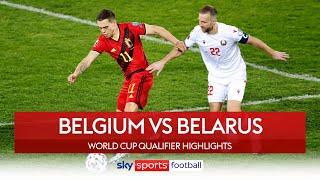 Belgium BATTER Belarus! | Belgium 8-0 Belarus | World Cup Qualifier Highlights