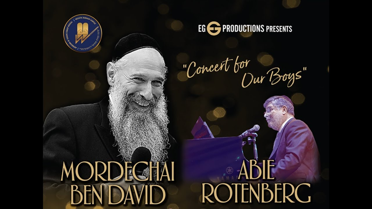 Yeshiva of Waterbury Presents: MBD & Abie Rotenberg in concert.