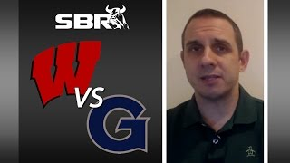 NCAA Basketball Picks: Georgetown Takes The New Faced Wisconsin Badgers To The Wire in N.Y.