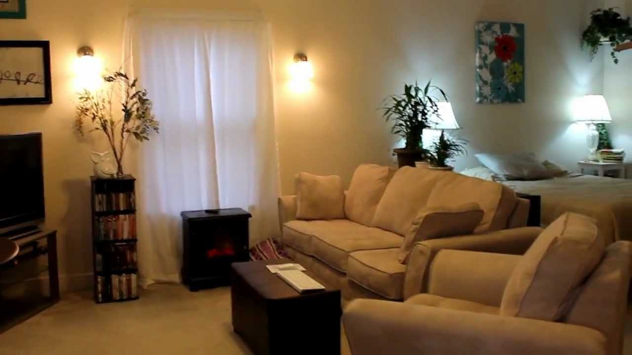 Tour of my new studio apartment! - YouTube