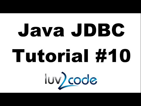 Java JDBC Tutorial – Part 10: BLOB - Reading And Writing BLOB With MySQL